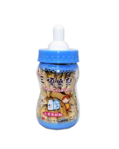 巧益奶瓶小骨牛奶餅 80g