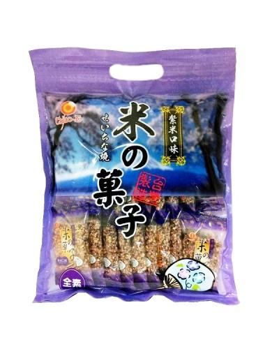 巧益 米之果子-紫米(全素) 200g
