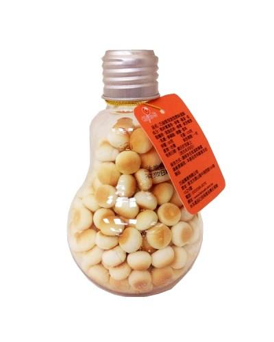 巧益 燈泡造型原味蛋酥 90g