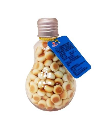 巧益 燈泡造型牛奶蛋酥 90g