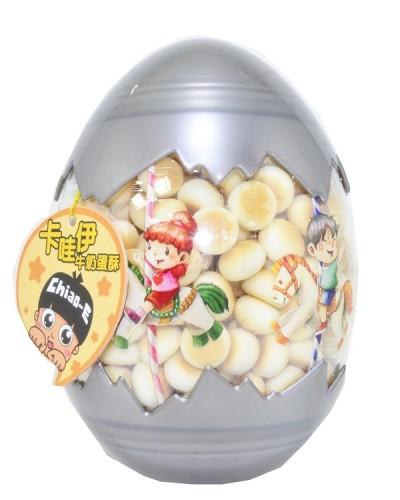 巧益卡哇伊造型蛋-牛奶蛋酥 120g