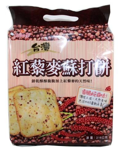 巧益紅藜麥蘇打餅216g