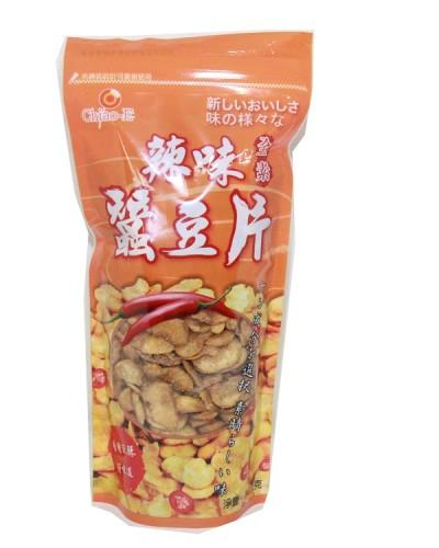 巧益全素辣味蠶豆片