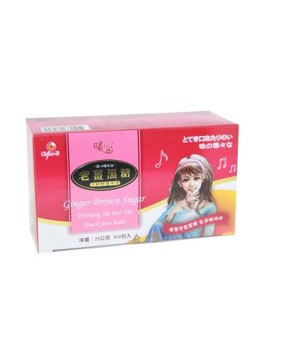 巧益老薑黑糖(沖泡包) 25gx10包