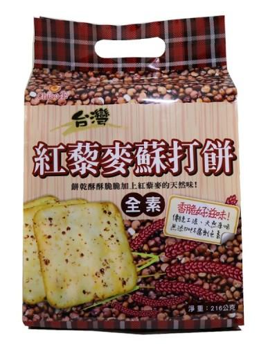 巧益紅藜麥蘇打餅 (全素)216g