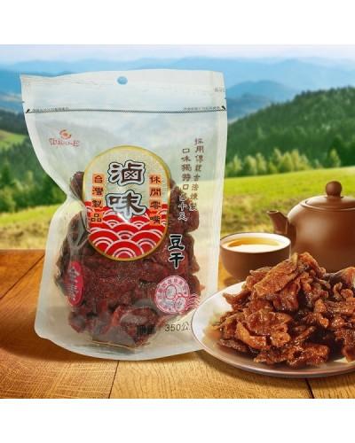 巧益滷味豆乾 (非基因改造) (全素) 350g