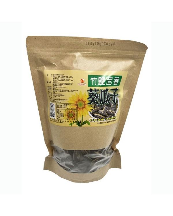 巧益竹鹽茴香葵花子 400g