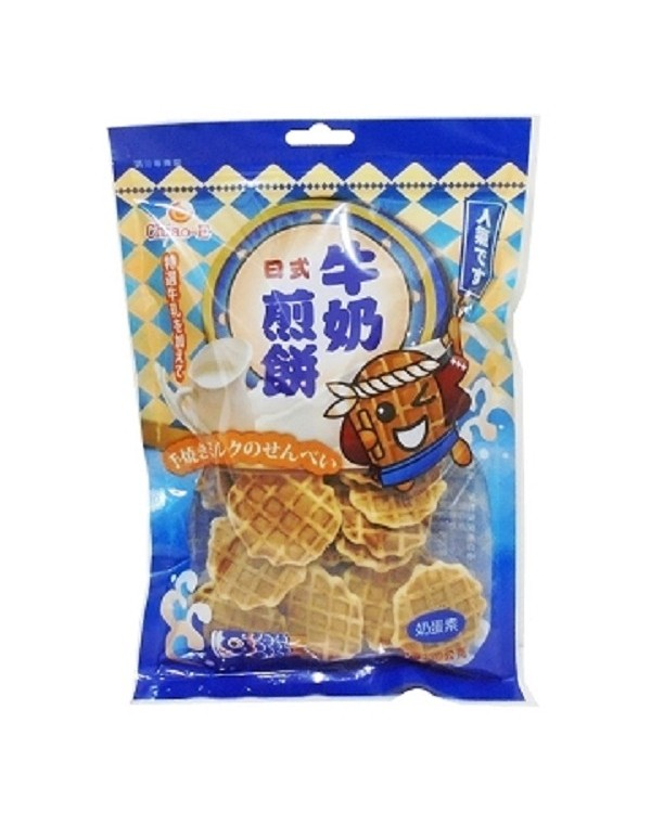 巧益日式牛奶煎餅 (淨重130g)