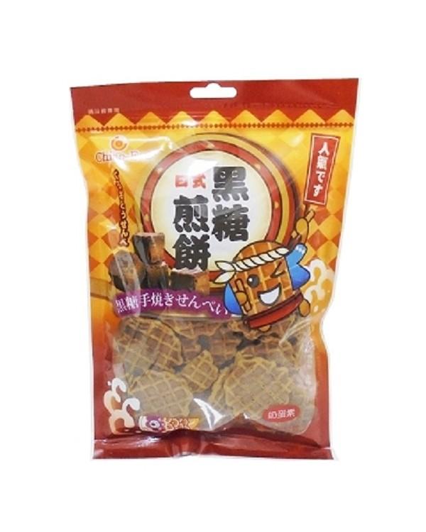 巧益日式黑糖煎餅 (淨重130g)