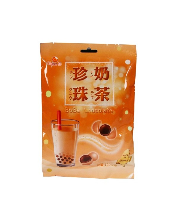 巧益珍珠奶茶(巧克力風味)淨重120g