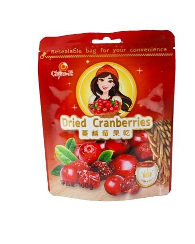 巧益蔓越莓果乾(全素) 100g