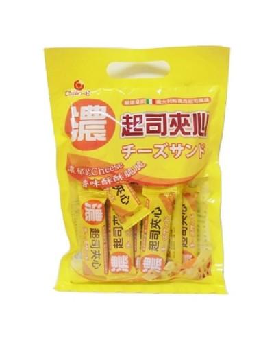 巧益濃起司風味夾心威化酥 (96g)