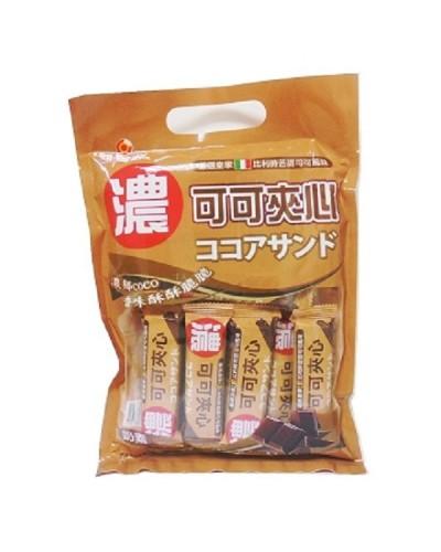 巧益可可風味夾心威化酥 (96g)