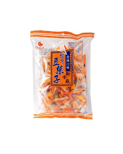 巧益綜合豆果子(香辣口味) 128g
