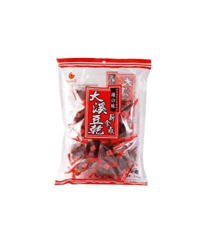 巧益大溪豆乾辣味(全素) 210g