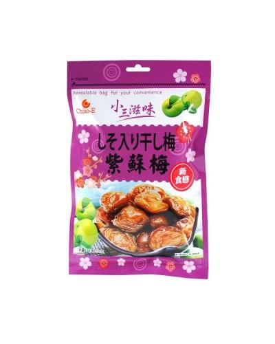 巧益小三滋味紫蘇梅 190g