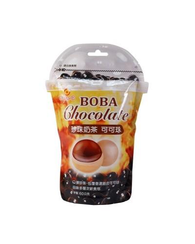 巧益珍珠奶茶可可球 60g