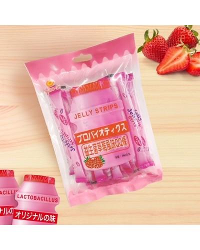 巧益益生菌草莓風味QQ條 340g