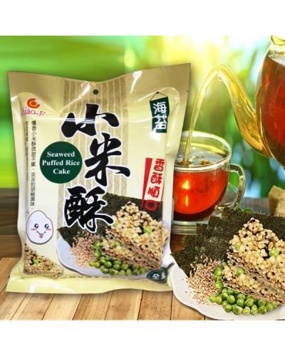 巧益海苔小米酥(全素) 168g