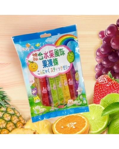 巧益綜合水果風味果凍條 340g