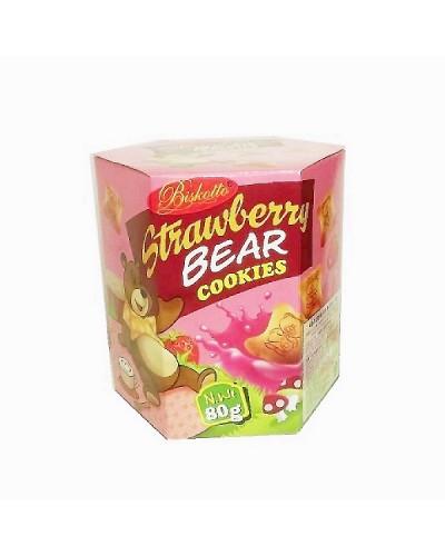 凱岳造型餅-草莓夾心 80g