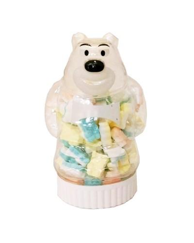 巧益 小熊造型罐糖 85g