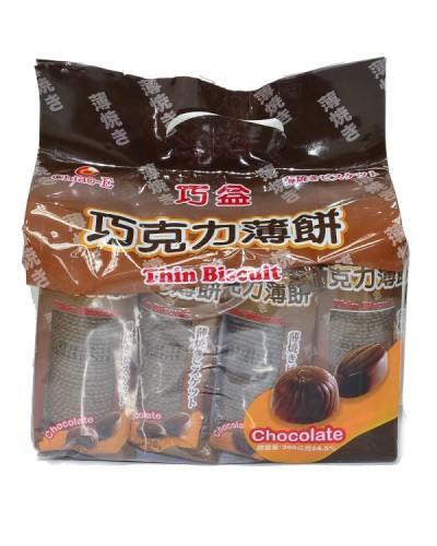 巧益巧克力薄餅360g